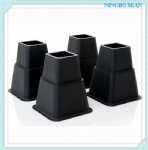 8PCS adjustable bed risers