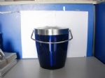 Double wall Ice bucket with handle